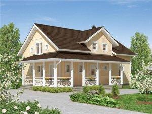 Дома из СИП панелей — по российским проектам